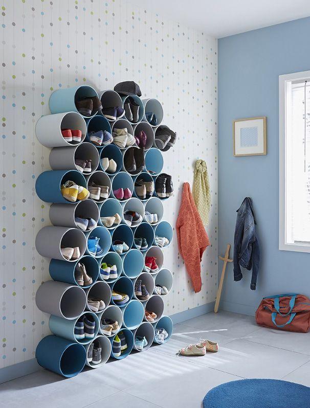 30 creative shoe storage design ideas the archolic. Black Bedroom Furniture Sets. Home Design Ideas