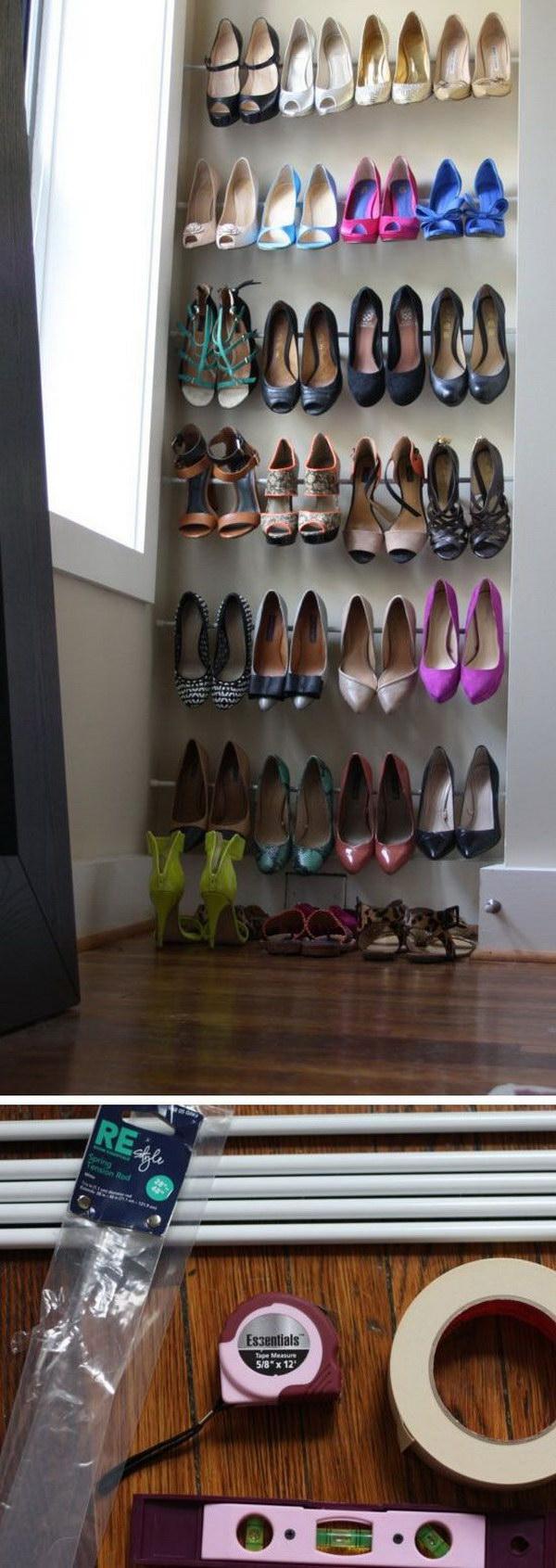 In 30 Creative Shoe Storage Design