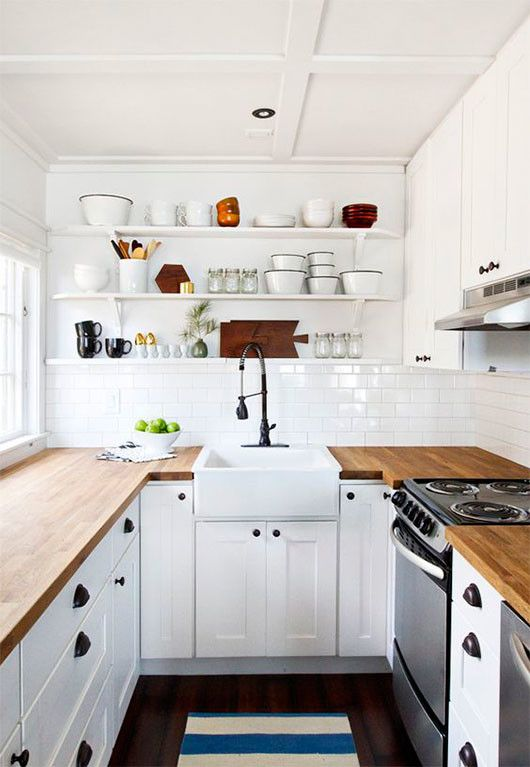 25+ Small Kitchen Design Ideas | The Archolic