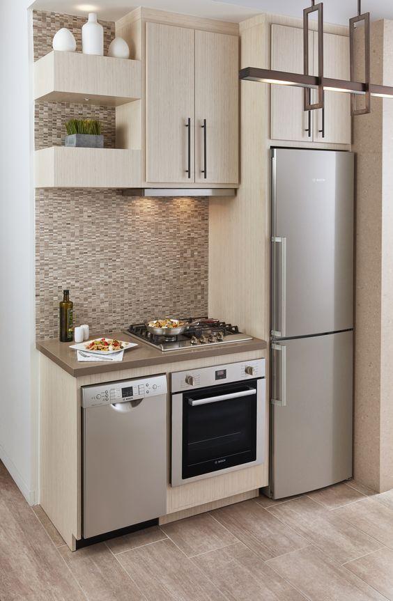 25+ Small Kitchen Design Ideas. 1 Of 29. Even ...