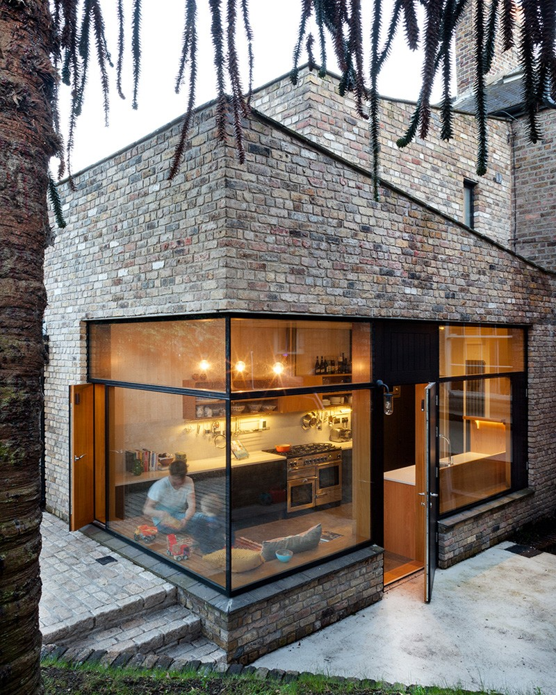 50 Brick Extrerior Home Design Ideas The Archolic