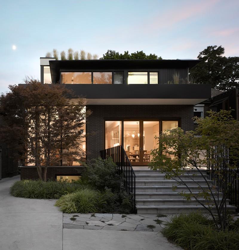 Modern Home Exterior Design Ideas 2017: 50+ Brick Extrerior Home Design Ideas